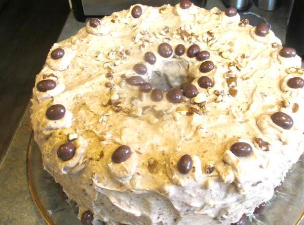 Frangelico Black Walnut Sour Cream Pound Cake Supreme. This Is What The Finished Product Looked Like After 26 Photos.