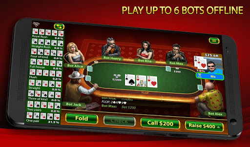 Texas Holdem Poker: Pokerbot apkmind screenshots 3