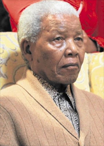 REVERED: Former president Nelson Mandela.  Photo: LULAMILE FENI