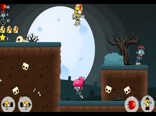 Robo vs Zombie- screenshot