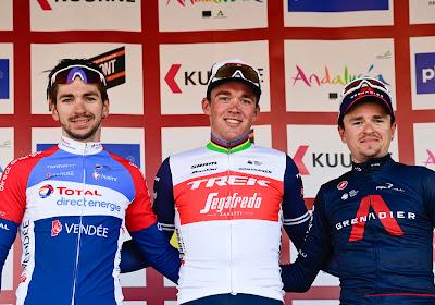 """Verrassende tweede plaats voor Fransman in Kuurne-Brussel-Kuurne: """"Dit was het beste wat ik in mij had"""""""