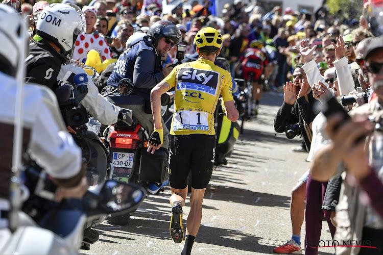 Chris Froome lopen Mont Ventoux 2016