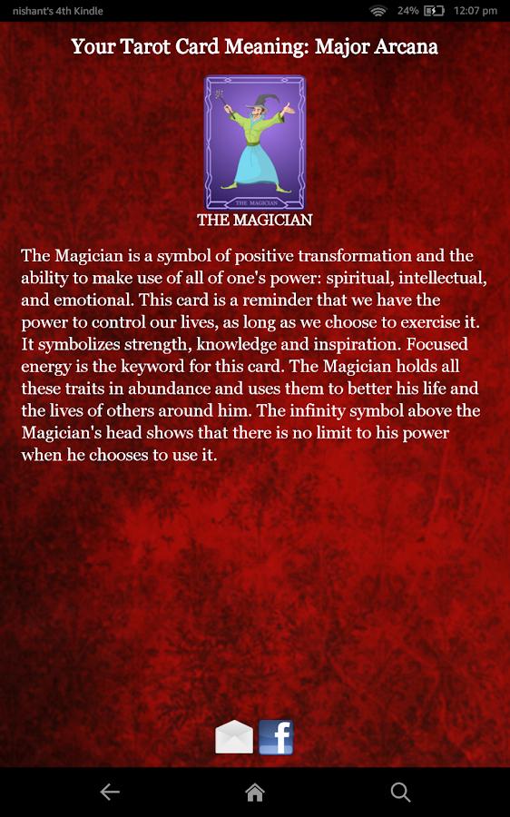 Tarot Card Reading - screenshot