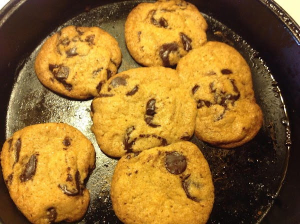 bake at 350-375 degrees for 10-12 minutes. According to how hot your oven gets...