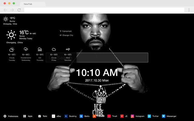 Iconic Rappers Pop Star HD New Tabs Themes