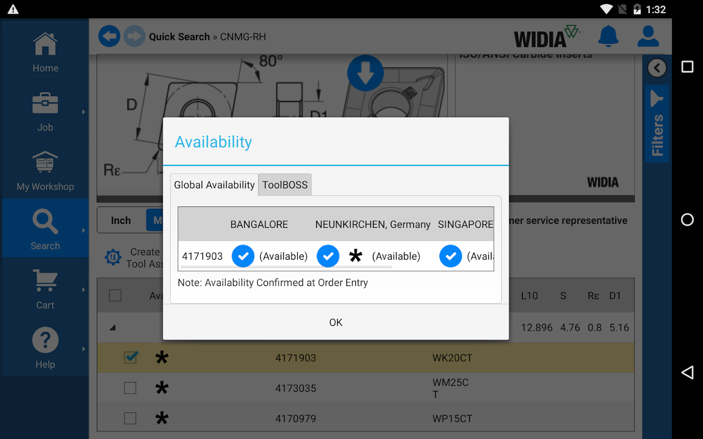 WIDIA NOVO- screenshot