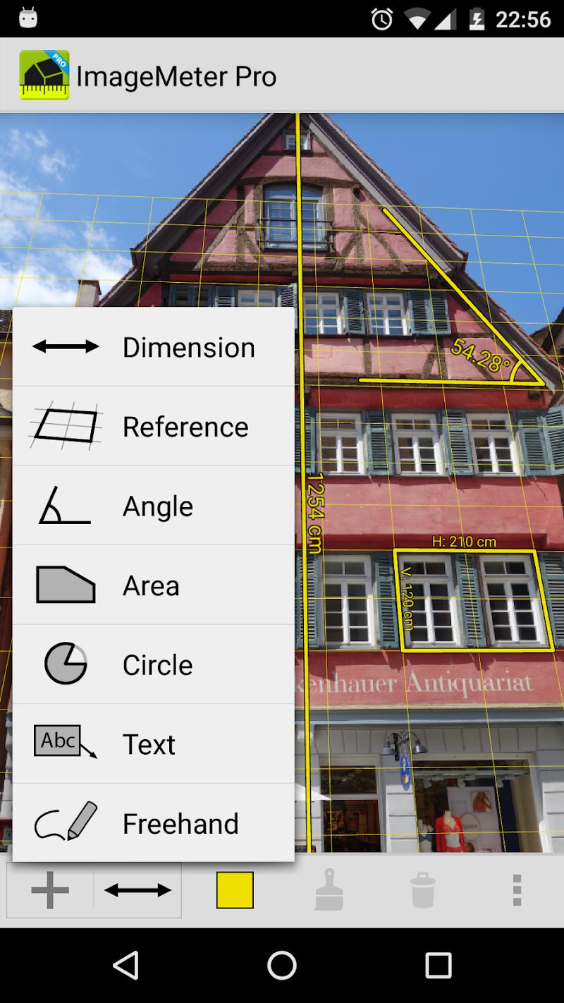 ImageMeter - photo measure Screenshot 0