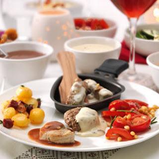 Gourmet Met Rozemarijn-biefstuk En Tijm-runderburgertjes