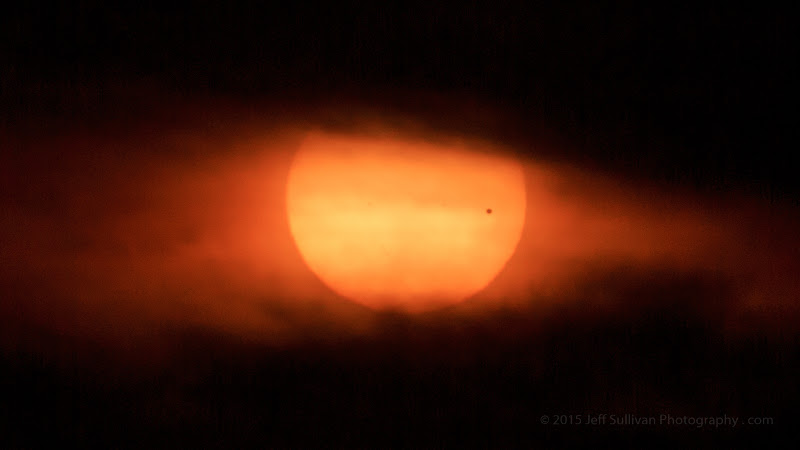 Photo: A photo from the Venus transit of the sun on June 5, 2012.  ‪#‎mercurytransit‬ ‪#‎astrophotography‬ ‪#‎venustransit‬ ‪#‎canon‬ #astrophotography