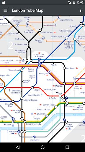 玩交通運輸App|倫敦地鐵地圖免費|APP試玩