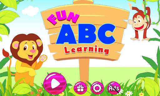 學習ABC兒童和幼兒