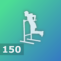 150 Triceps Dips - Bigger Chest Workout icon