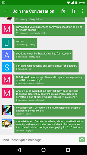 Conversations (Jabber XMPP) v1.19.2 build 224 [Paid]