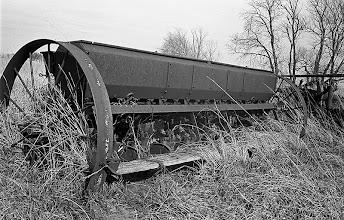 Photo: Old wheat planter
