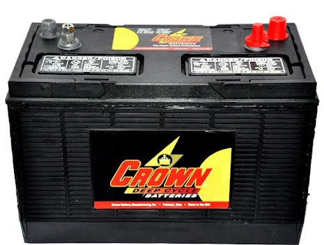 Deep-cycle batteri 12V/130Ah
