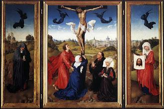 Photo: Crucifixion Triptych. c. 1445