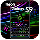 Black Neon Keyboard for Galaxy S9 for PC-Windows 7,8,10 and Mac