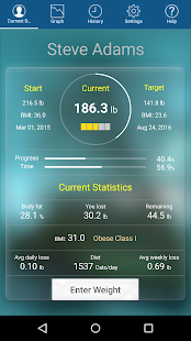 Monitor Your Weight- screenshot thumbnail