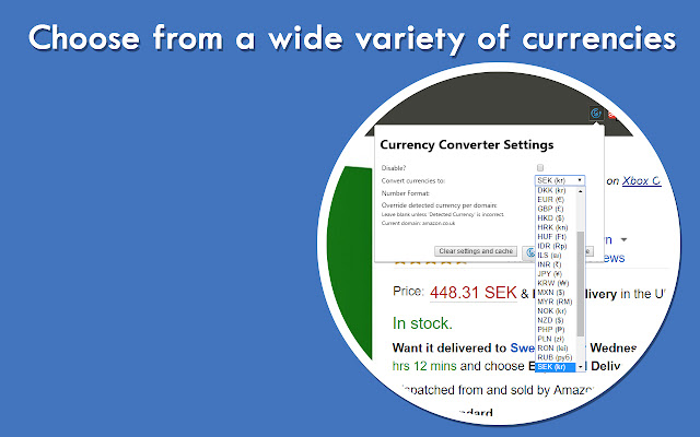 Automatic Currency Converter