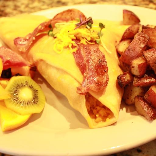 10. Breakfast Crepe