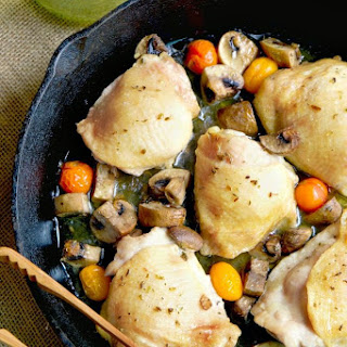 Baked Chicken Thighs Bone Recipes