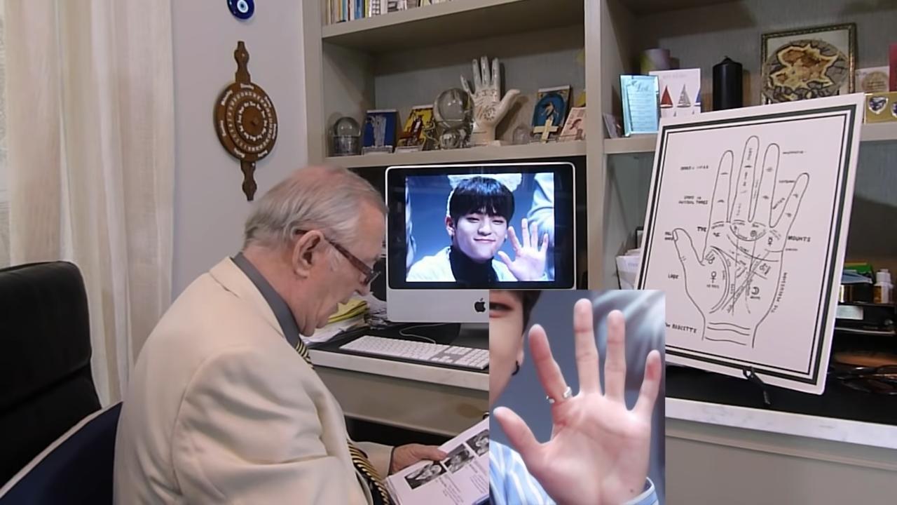 Kim Woojin Palm Reading tony leggett 1