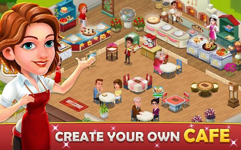 Cafe Tycoon MOD APK 4.3 [Unlimited Gems + Unlimited Coins] 1
