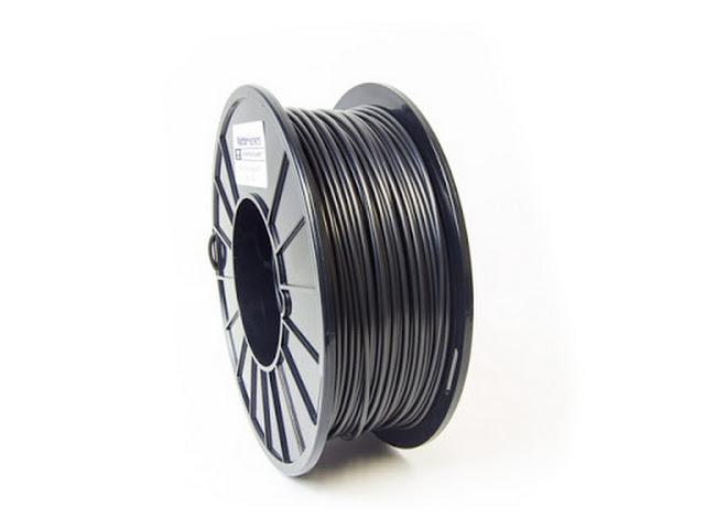 3d Printer Filament >> Black Pro Series Nylon Filament 1 75mm 0 75kg Matterhackers