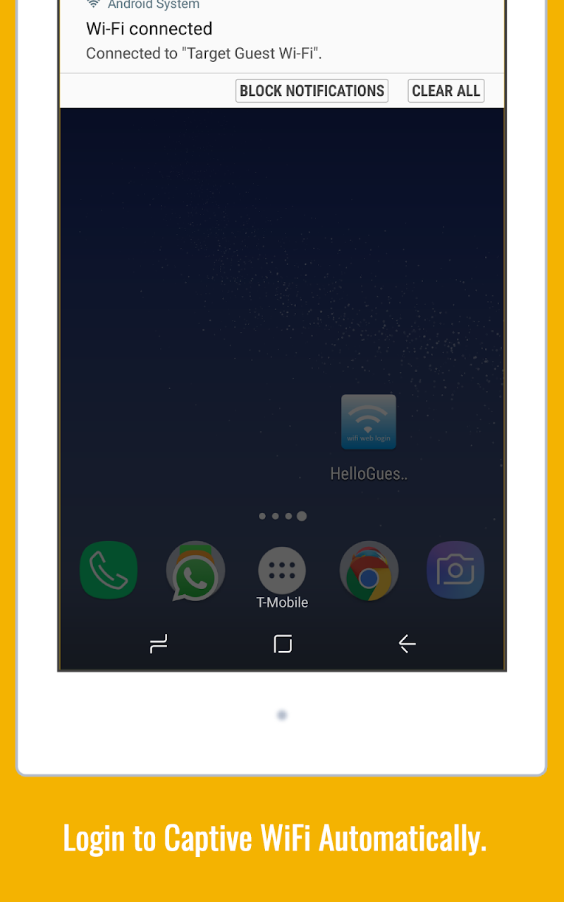 WiFi Web Login Screenshot 6