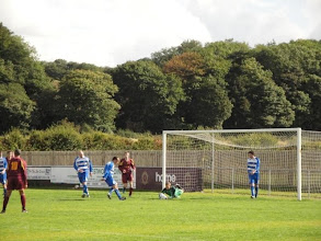 Photo: 11/09/10 v Hall Road Rangers (NCEL Prem Div) 2-4 - contributed by Paul & Rob Campion