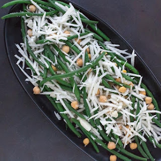 Fresh Green Bean, Chickpea & Jicama Salad.