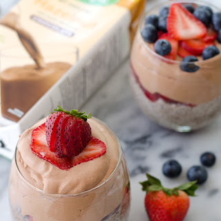 Whipped Chocolate Chia Pudding