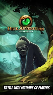 CCG Deck Adventures Wild Arena: Collect Battle PvP MOD Apk 1.4.13(Unlimited Shopping) 1