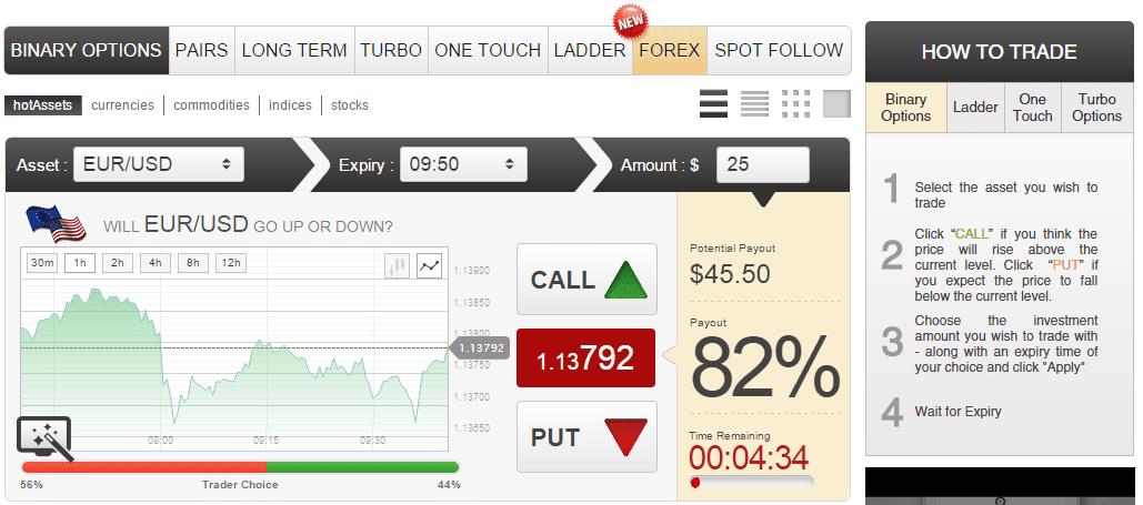 GOptions Trading Platform