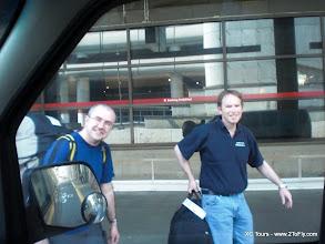 Photo: Seattle airport pickup.