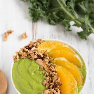 Orange Kale Quinoa Smoothie