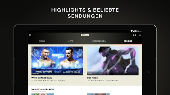 ProSieben MAXX – TV, Mediathek- screenshot thumbnail