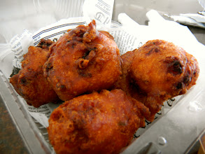 Photo: And definitely try the conch fritters. They are heavy so you probably don't need much else for lunch.