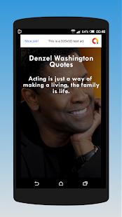 Download Denzel Washington Quotes For PC Windows and Mac apk screenshot 3