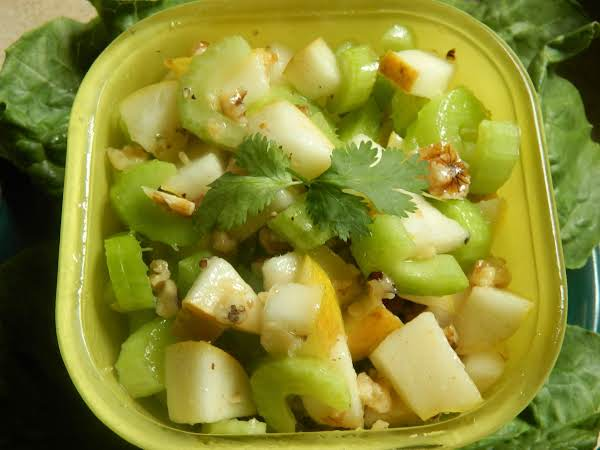 Pear And Celery Salad