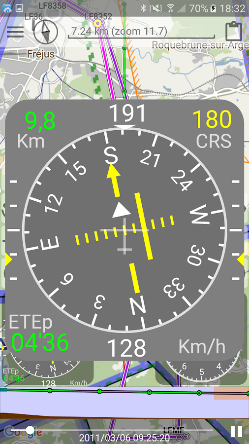 VFR- screenshot