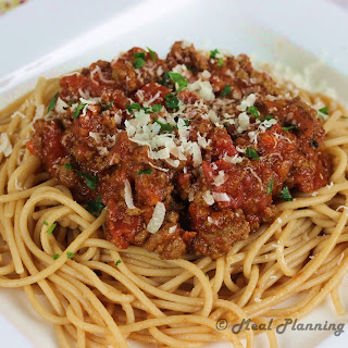 Crockpot Spaghetti Sauce with Meat