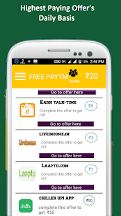Cashon-free paytm earning app – Apps bei Google Play