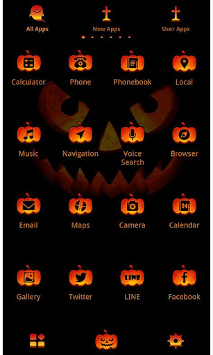 Funny Theme-Jack O' Lantern- 1.0.0 Windows u7528 3