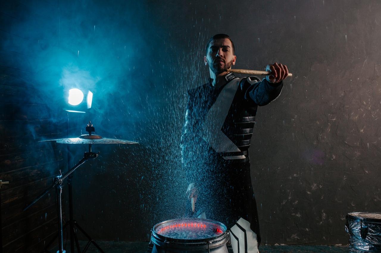 Шоу барабанов ХитБит в Тюмени