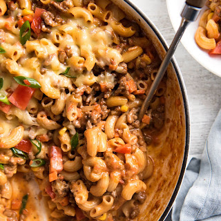 Homemade Hamburger Helper (Cheeseburger Casserole)