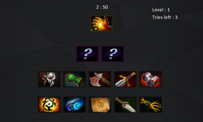 item recipe quiz for dota 2 android apps on google play