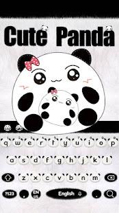 Cute Panda Keyboard Theme Apps On Google Play