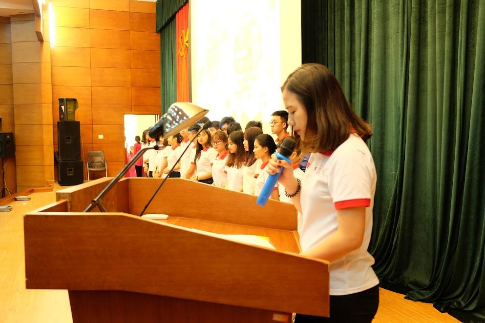 ICC Hà Nội tôt chức lễ Chia tay Đoàn Du học sinh
