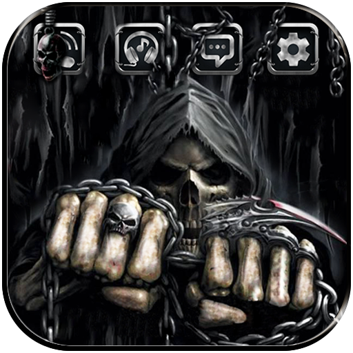 Skull Death Fist Theme Android APK Download Free By Wonderful DIY Studio